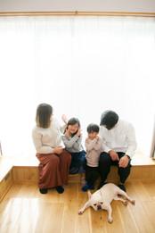 家族写真 秋のひまわり  前撮りロケーションフォト 家族写真 ファミリーフォト モリケン 森永健一 出張撮影 佐賀 福岡