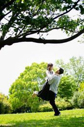 葛西臨海公園 エンゲージメントフォト デートフォト 前撮りロケーションフォト 結婚披露宴撮影 モリケン 森永健一 出張撮影 東京