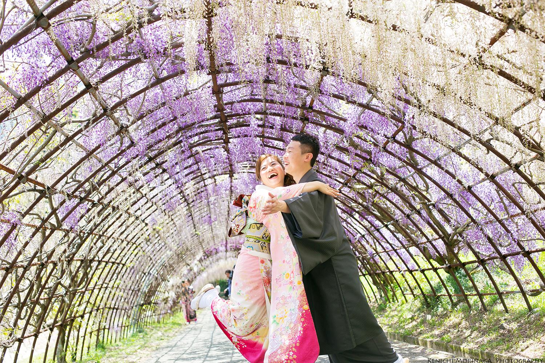pre wedding in Wisteria park