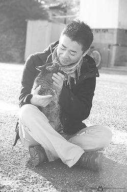 相島のネコ写真 猫写真家 森永健一 ネコカメラマン 猫の島 Ainoshima cat