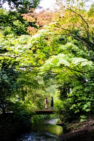 金鱗湖 由布院 由布岳 大分 前撮りロケーションフォト 結婚披露宴撮影 モリケン 森永健一 出張撮影 福岡