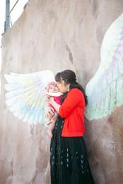 天使の羽 箱島神社 トトロの森 ロンドンバスカフェ 糸島 前撮りロケーションフォト 家族写真 ファミリーフォト モリケン 森永健一 出張撮影 福岡