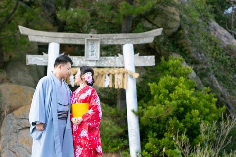 箱島神社 トトロの森 糸島
