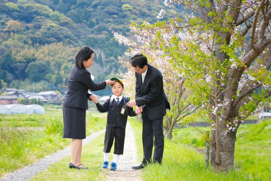 桜 新入学 入学祝い 糸島 福岡 | Feel So High! 森永健一Photography | 日本