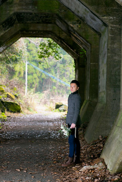 馬門橋 二俣橋 八角トンネル 熊本 結婚写真 結婚撮影 出張撮影 前撮りロケーションフォト ブライダルカメラマン 森永健一