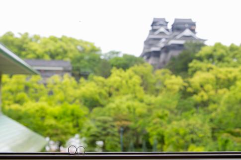 熊本KKRホテル 福岡結婚写真 ブライダルカメラマン森永健一 熊本城 前撮り
