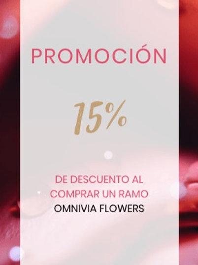 Ramo Ominivia Flowers (sin suscripción)