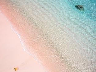 """""""Pinker Beach"""" irgendwo zwischen Komodo und Sumbawa, Indonesien 2017"""