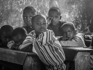 Massai-Kindergarten, Ngorongoro Hochland, Tansania