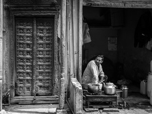 Delhi, Indien 2017