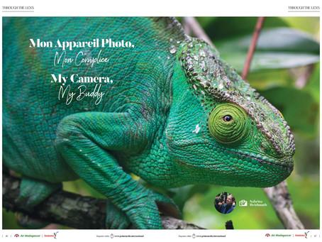 Meine Bilder im Inflight-Magazin