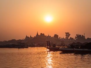 Ayeyarwady River, Myanmar 2017