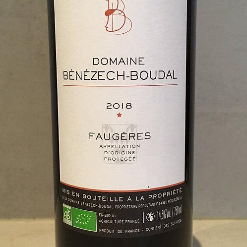Domaine Benezech Boudal AOP Faugères AOP 2019