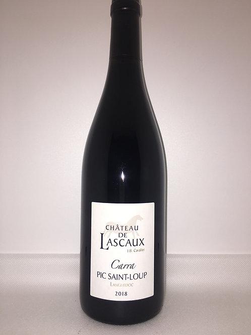 Château de Lascaux, «Carra», Pic St Loup 2018