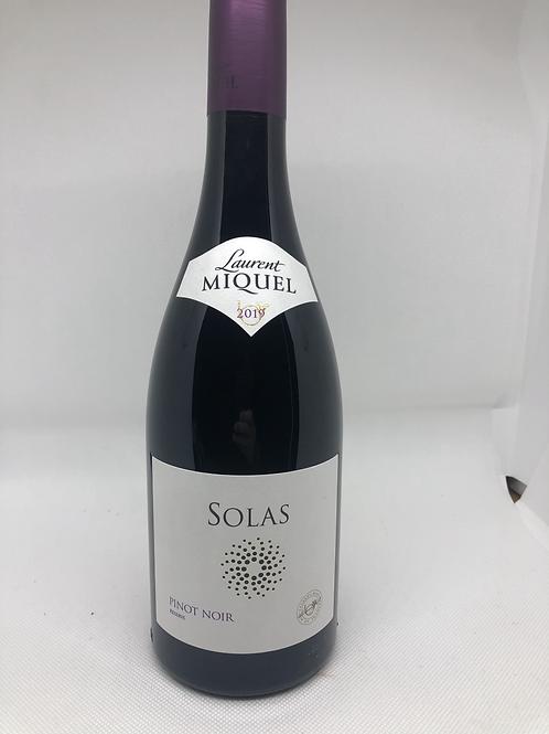 Solas Pinot Noir Laurent Miquel 2019