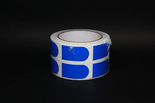 "1"" #BLUETAPE 500 Count Staff"