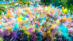 Фестиваль красок Холи. Калининград.
