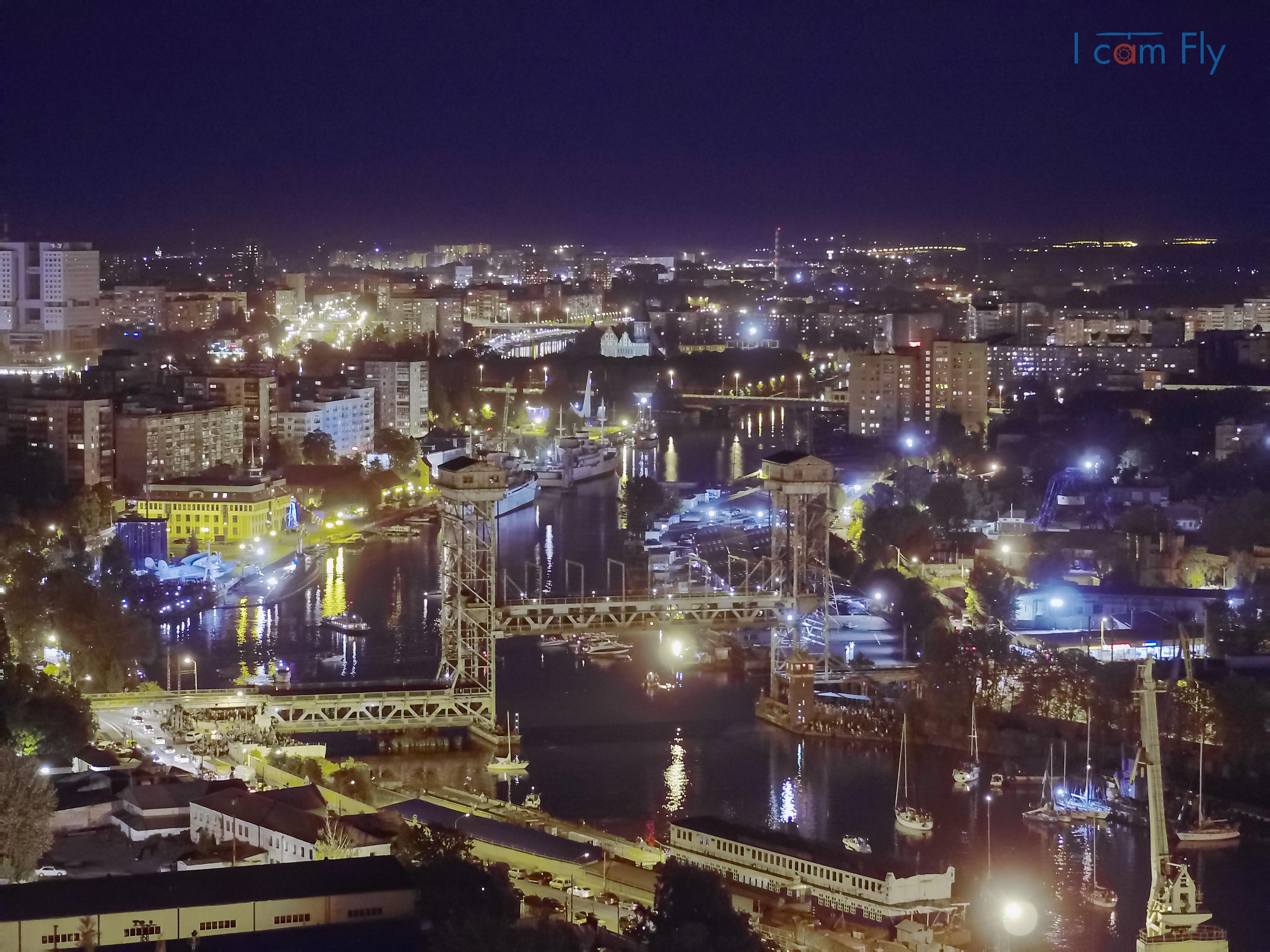 Ночная регата, Калининград