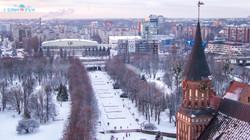 Кафедральный собор зимой.Калининград