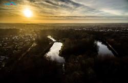 5й форт, закат. Калининград.