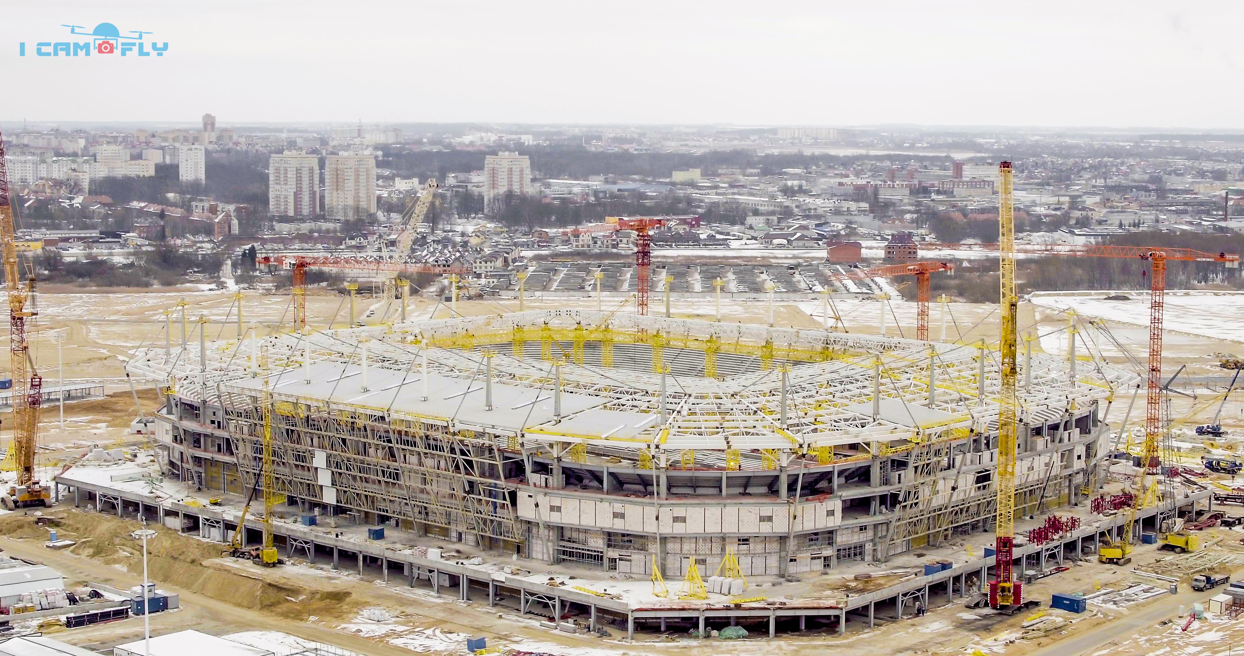 Стадион Калининград. ЧМ-2018. Россия