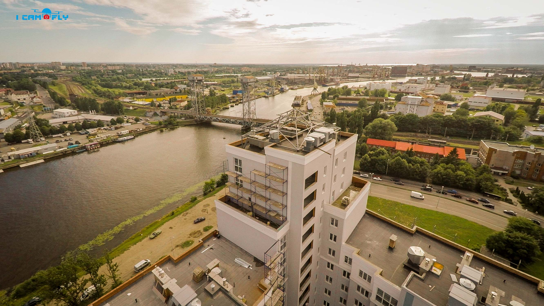 Двухъярусный мост. Калининград