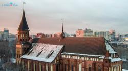 Кафедральный собор зимой.