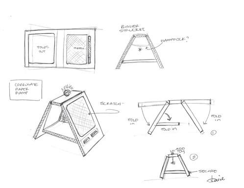 Quick Concept Sketch - Pen