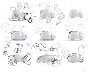 Exploration Sketches - 3D file and Pen