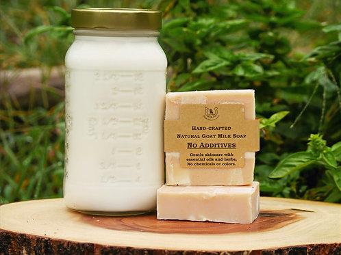 Goat Milk Soap No Additives