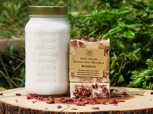 Goat Milk Soap Rosebud