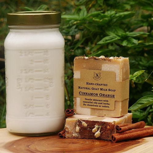 Cinnamon Orange Goat Milk Soap