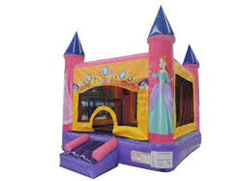 2 in 1 Princess Bounce (with hoop)