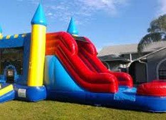 4 in 1 Castle Jump n Slide (Wet or Dry)