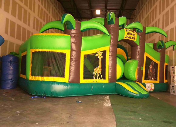 360 Tropical Playcenter (Obstacles, Slides & More)