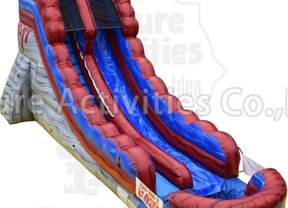 24 Ft Lava Splash Slide (pool)