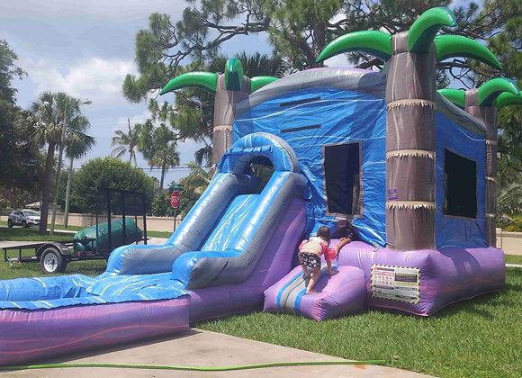 Purple Crush Bounce n Slide (Wet Or Dry w/ Pool)