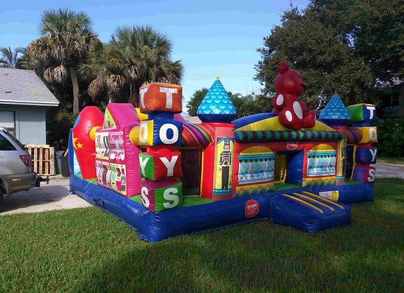 Toy Town Playcenter (Obstacles, Slide, & Bounce)