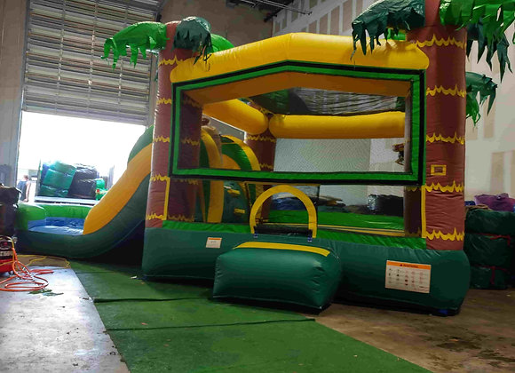 Tropical Bounce n Slide (with Pool)