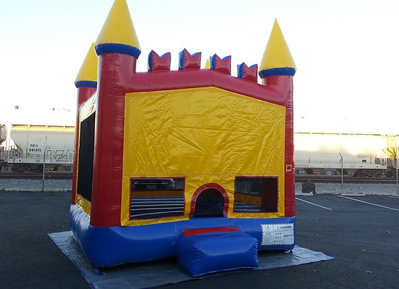 Red/Yellow/Blue Castle (2 in 1, with hoop)