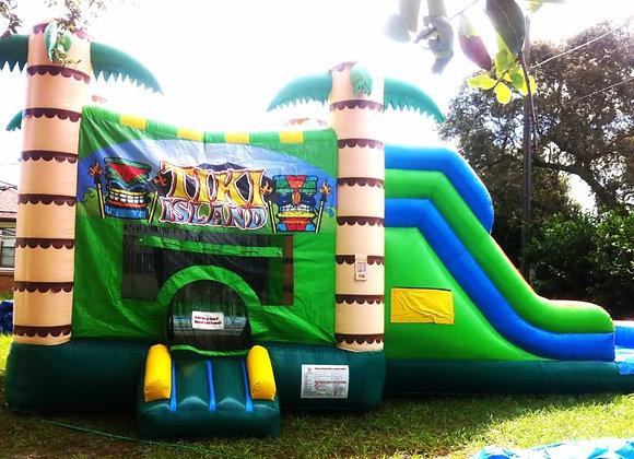 4 in 1 Tiki Jump n Slide (Wet or Dry)