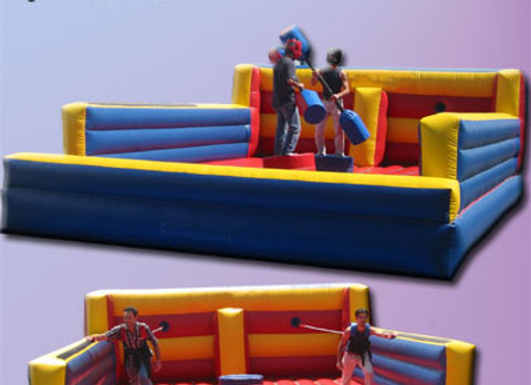 2 in 1 Jousting, Bungee Race Combo