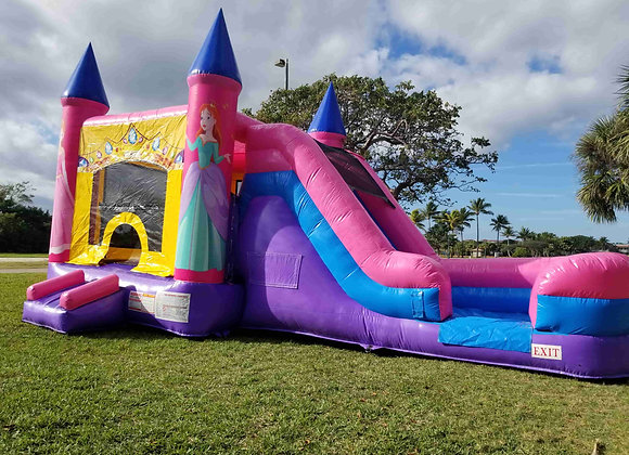 Princess Jump n Slide (Wet or Dry)