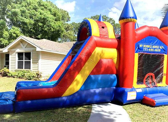 Bounce N Dip Castle Combo (Wet or Dry w/pool)