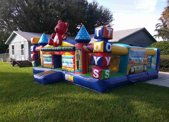 Toy Town Playcenter (Obstacles, Slide, Bounce)