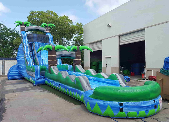 27 Ft Blue Crush w/ Slip n Slide (With Pool)