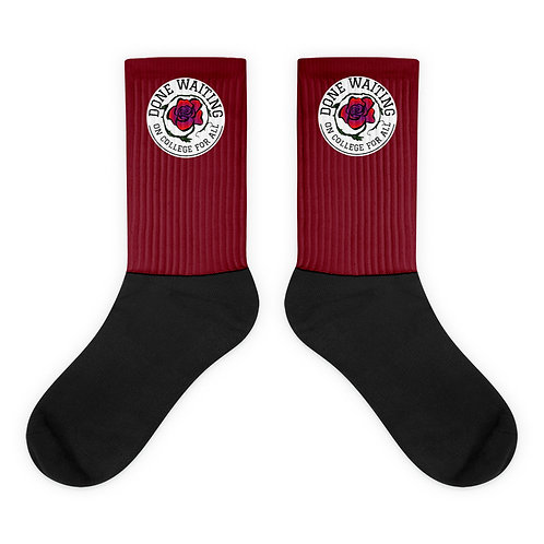 College For All Crest Socks