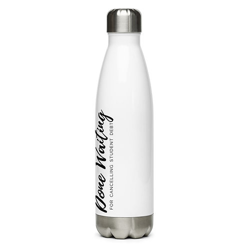 College For All Water Bottle