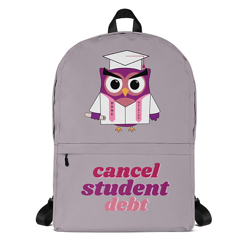 College For All Owl Backpack