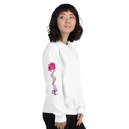 Bread and Roses Poem Crew-neck Sweater